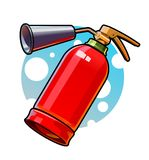 extintor Fotografia de Stock Royalty Free