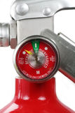 Extintor de incêndio vermelho foto de stock royalty free