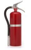 Extintor de incêndio vermelho foto de stock