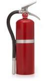 Extintor de incêndio vermelho no branco Imagem de Stock