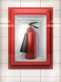 Extintor de incêndio Foto de Stock Royalty Free