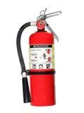 Extintor de incêndio com trajeto Fotografia de Stock Royalty Free