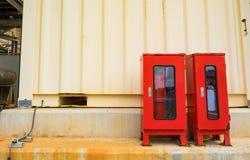 Extintor para la protección contra los incendios Fotografía de archivo