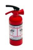 Extintor rojo Foto de archivo libre de regalías