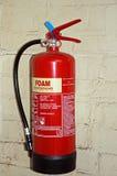 Extintor vermelho da espuma Fotografia de Stock Royalty Free