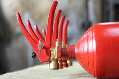 Extintores Foto de Stock Royalty Free
