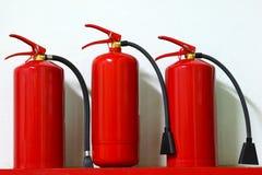 Extintores Foto de Stock