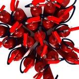 Extintores aéreos do tiro Imagem de Stock