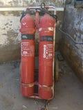 Extintores em Afeganistão Fotografia de Stock