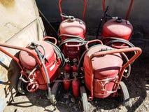 Extintores em Afeganistão Imagem de Stock Royalty Free