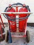 Extintores em Afeganistão Foto de Stock Royalty Free