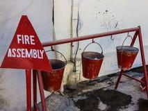 Extintores em Afeganistão Imagens de Stock Royalty Free