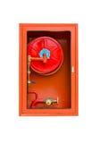 Extintores no branco Imagem de Stock Royalty Free