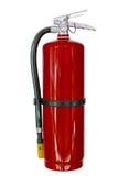 Extintores químicos vermelhos isolados Fotografia de Stock