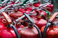 Extintores velhos Fotos de Stock Royalty Free