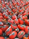 Extintores velhos Foto de Stock