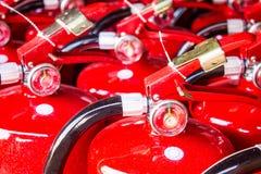 Extintores vermelhos Imagens de Stock