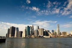 Extrémité de Manhattan Images stock