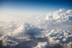 Extrémité de nuage Images libres de droits