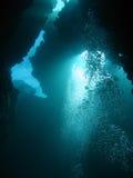 extrémité de plongée d'abîme Image stock