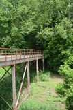 Extrémité de pont Photo stock