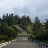 extrémité du Bornéo Images libres de droits