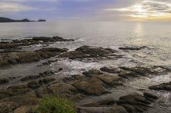 extrémité du Bornéo Photos stock