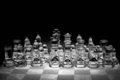 extrémité du compagnon de contrôle de jeu, noir et blanc monochrome avec le point culminant Photos libres de droits