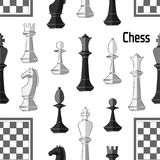extrémité du compagnon de contrôle de jeu, noir et blanc monochrome avec le point culminant gibier Configuration illustration de vecteur