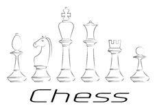 extrémité du compagnon de contrôle de jeu, noir et blanc monochrome avec le point culminant gibier Ensemble d'icône illustration stock