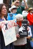 Extrémité Fracking Photographie stock libre de droits