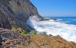 Extrémité méridionale de mille plages d'étapes, Laguna Beach, C Images libres de droits