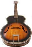 Extrémité sur la guitare Photographie stock libre de droits