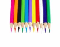 Extrémités de crayon Images libres de droits