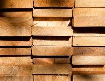 Extrémités de planches de mélèze Image libre de droits