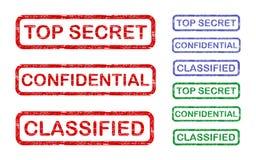 Extrêmement secret Images libres de droits