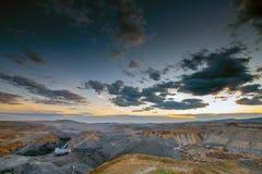 Extração de carvão no poço aberto imagem de stock royalty free