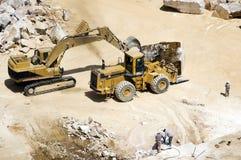 Extração de mármore Imagem de Stock Royalty Free