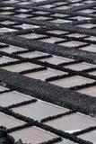 Extração de sal no La Palma Fotografia de Stock