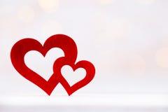 8 extra ai som kontroll för hälsning för mapp för eps för bakgrundskortdag nu över vita oavgjorda sparade valentiner Röd hjärta p Royaltyfria Foton