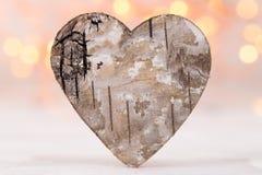8 extra ai som kontroll för hälsning för mapp för eps för bakgrundskortdag nu över vita oavgjorda sparade valentiner Wood hjärta  Royaltyfri Fotografi