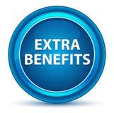 Extra Benefits Eyeball Blue Round Button. Extra Benefits Isolated on Eyeball Blue Round Button royalty free illustration
