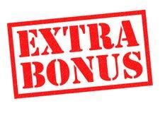 Extra bonus royalty-vrije illustratie