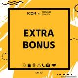 Extra bonus - knoop stock illustratie