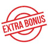 Extra Bonus rubber stamp Royalty Free Stock Photos