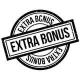 Extra Bonus rubber stamp Stock Image