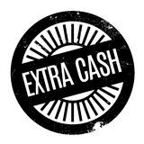 Extra Cash rubber stamp Stock Photo