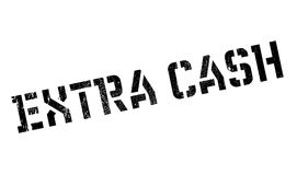 Extra Cash rubber stamp Royalty Free Stock Image