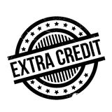 Extra Credit rubber stamp Royalty Free Stock Photos