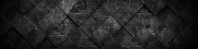 Extra Dark Background (Website Head) 3D Rendering Royalty Free Stock Photography